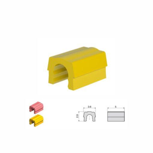 Κίτρινα συγκρατητικά κλιπ - μεσαία συγκράτηση 1,8kg